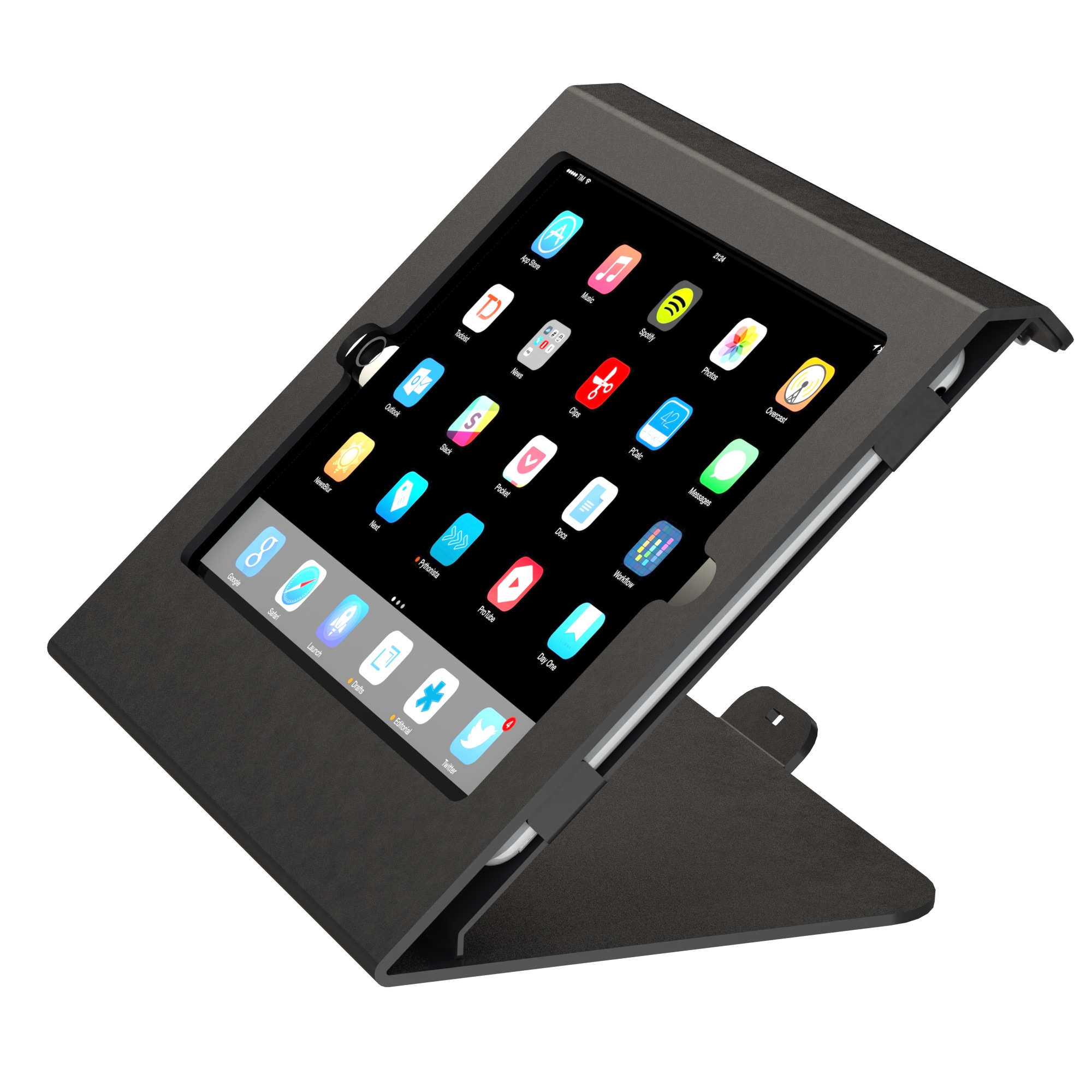 Tablet holder + iPad Air 2 (8)